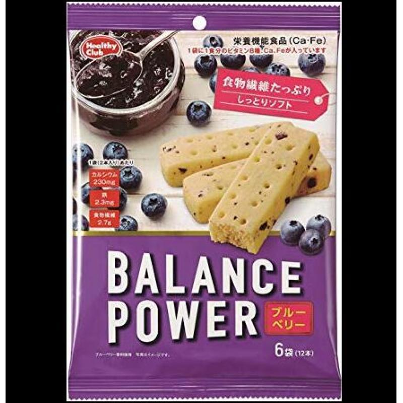 半价处分:BALANCE POWER营养低卡代餐压缩饼干 6袋入 消费期限到3月 售完为止