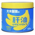 大木肝油维生素软糖维生素A+D香蕉口...
