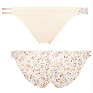 代购:日本 黛安芬 新款 奶白色小花...