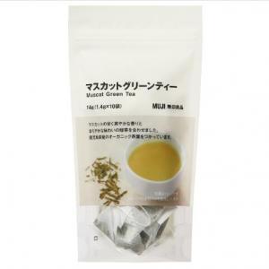 无印良品 提子绿茶14g(1.4gx...