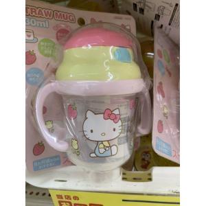 STRAW MUG新款凯蒂猫图案8个...