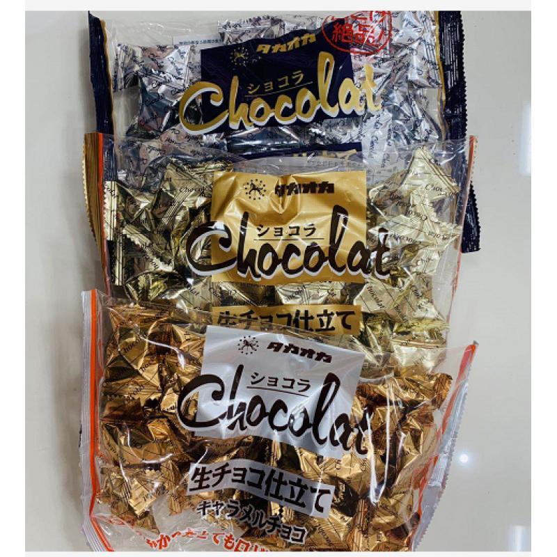 日本很火的高岗Takaoka巧克力3个口味可选(可发/低价值/零食线)